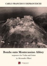 Bombs onto Montecassino Abbey